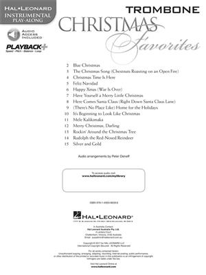 Christmas Favorites - Trombone: Trombone