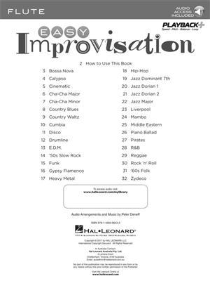 Easy Improvisation (Flute): Flute