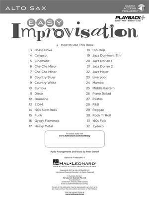 Easy Improvisation (Alto Sax): Alto Saxophone