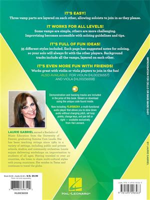 Laurie Gabriel: Improvisation for Cello or Bass Made Easy: Cello