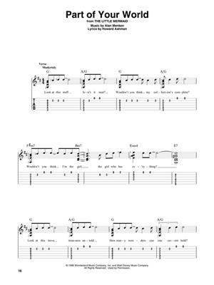 Disney Songs - Beginning Solo Guitar: Guitar or Lute