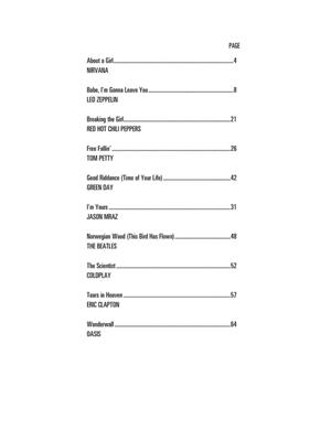 Acoustic Guitar Songs - 2Nd Edition: Guitar or Lute