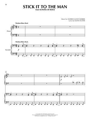 Andrew Lloyd Webber: Andrew Lloyd Webber Favorites for Piano Duet: Piano Quatre Mains (4 Hands)
