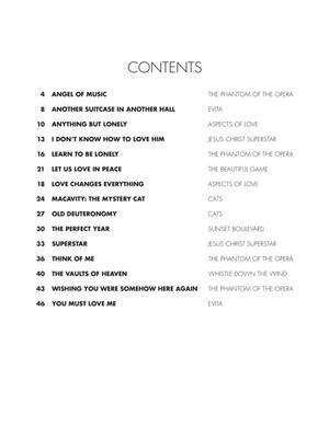 Phillip Keveren: Andrew Lloyd Webber Piano Songbook: Piano or Keyboard