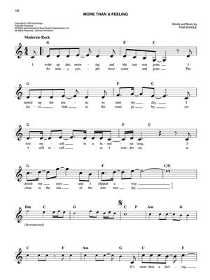 The Easy Classic Rock Fake Book: C Clef Instrument