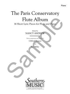 Nancy Andrew: Paris Conservatory Flute Album: Flute