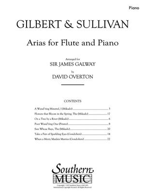 Arias for Flute and Piano: Arr. (James Galway): Flute & Piano