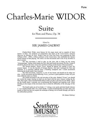 Suite: Arr. (James Galway): Flute & Piano