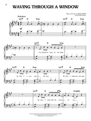 Justin Paul: Dear Evan Hansen - Easy Piano Selections: Piano or Keyboard