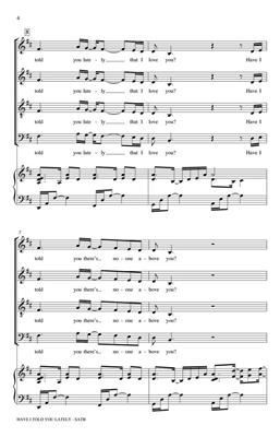 Van Morrison: Have I Told You Lately: Arr. (Paul Langford): SATB