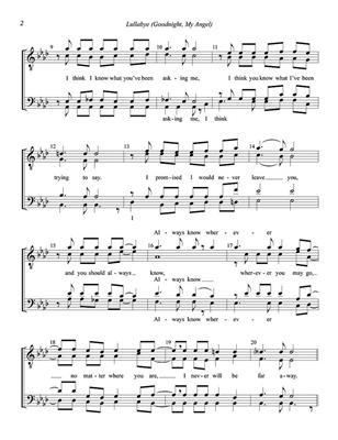 Billy Joel: Lullaby: Men's Choir