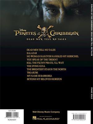 Geoff Zanelli: Pirates Of The Caribbean - Dead Men Tell No Tales: Piano