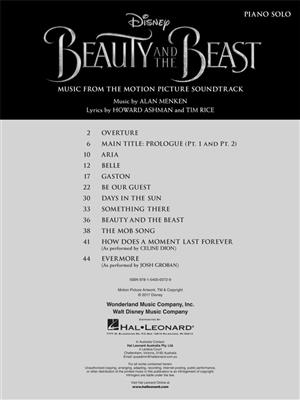 Alan Menken: Beauty And The Beast: Piano or Keyboard