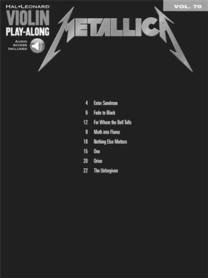 Metallica: Metallica: Violin