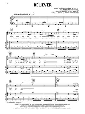 Imagine Dragons: Imagine Dragons - Evolve: Piano, Vocal, Guitar