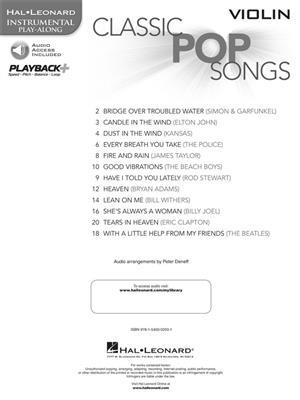 Classic Pop Songs - Violin: Violin