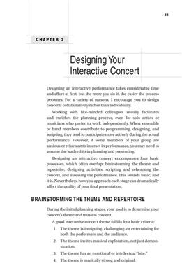 Engaging the Concert Audience: Books on Music