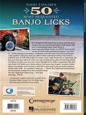 Todd Taylor's 50 Most Requested Banjo Licks: Banjo or Mandolin