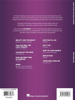 Disney Songs for Female Singers: Vocal