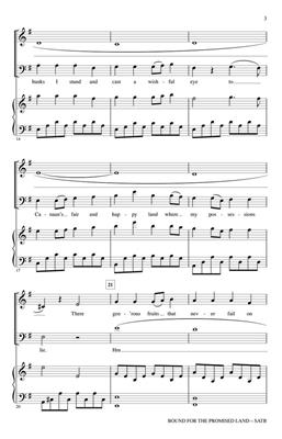 Bound for the Promised Land: Arr. (John Leavitt): SATB