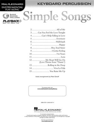 Simple Songs - Keyboard Percussion: Mallet Percussion
