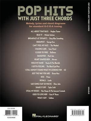 Pop Hits with Just Three Chords: Ukulele