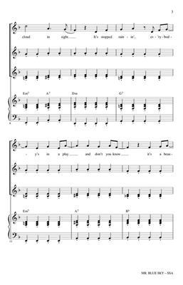 Jeff Lynne: Mr. Blue Sky: Arr. (Roger Emerson): SSA