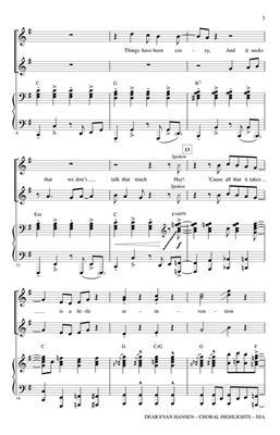 Dear Evan Hansen (Choral Highlights): Women's Choir