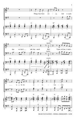 Mark Brymer: Dear Evan Hansen: Mixed Choir