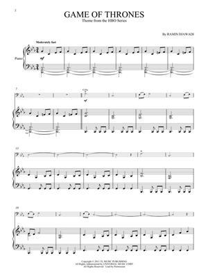 Ramin Djawadi: Ramin Djawadi: Game of Thrones - Theme: Cello