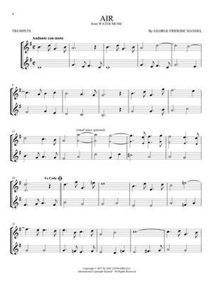 Classical Themes for Two Trumpets: Trumpet, Cornet or Flugelhorn