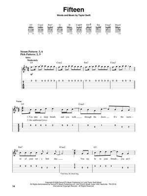 Taylor Swift: Taylor Swift - Easy Guitar Anthology: Guitar or Lute