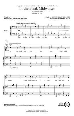 In the Bleak Midwinter: Arr. (Robert I. Hugh): 2-Part Choir