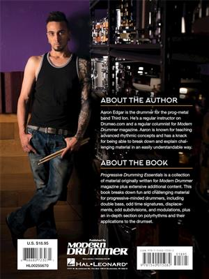 Aaron Edgar: Progressive Drumming Essentials: Drums and Percussion