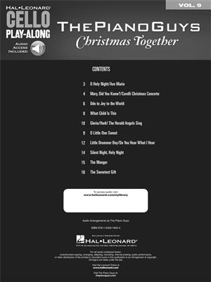 The Piano Guys: The Piano Guys - Christmas Together: Cello