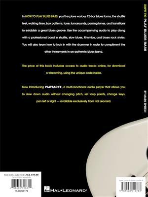 Mark Epstein: How to Play Blues Bass: Bass Guitar