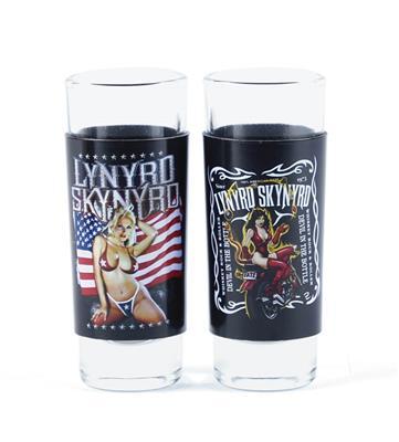 Lynyrd Skynyrd Shot Glass Set: Gifts
