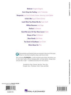 12 Pop Hits - Clarinet: Clarinet