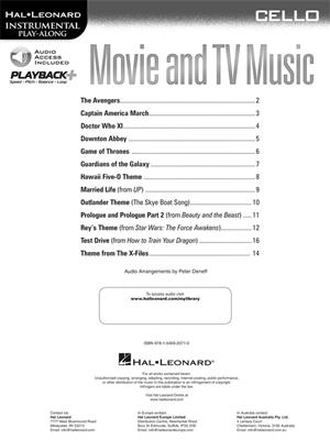Movie and TV Music - Cello: Cello