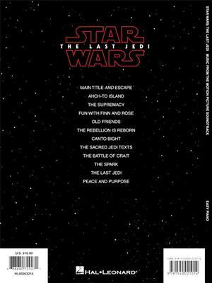 John Williams: Star Wars: The Last Jedi: Easy Piano