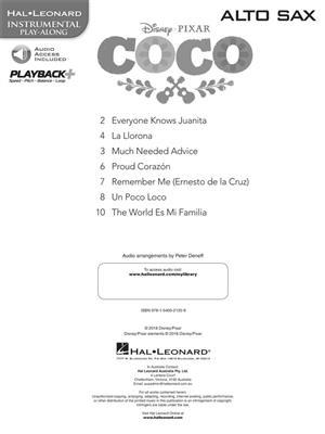 Coco - Alto Saxophone: Saxophone