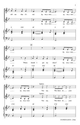Germaine Franco: Un Poco Loco: Mixed Choir