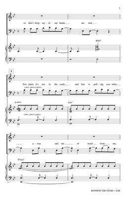 Benj Pasek: Rewrite the Stars: Mixed Choir