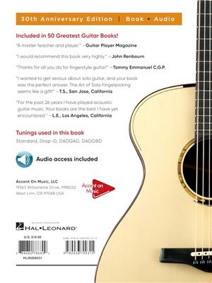The Art of Solo Fingerpicking-30th Anniversary Ed.: Guitar or Lute
