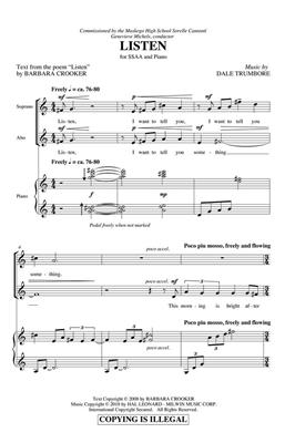 Dale Trumbore: Listen: Women's Choir