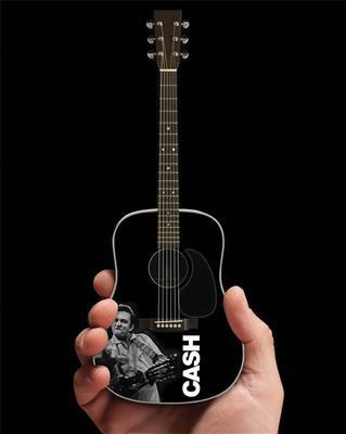 Johnny Cash -Signature Black Acoustic Guitar Model