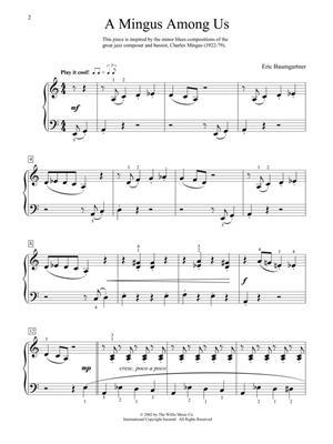 Eric Baumgartner: A Mingus Among Us: Piano or Keyboard