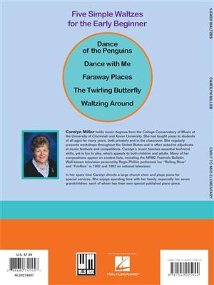Carolyn Miller: 5 Easy Waltzes: Piano