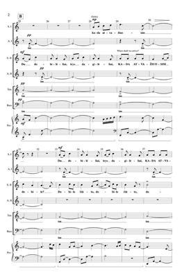 Vaclovas Augustinas: Du Dob Dob: Double Choir