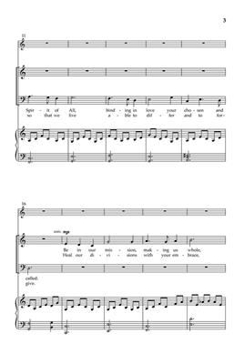 Sandra Ford: Be in Our Gatherings: SATB